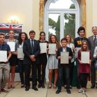Premiati i vincitori del concorso Kangourou della lingua inglese