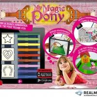 Il nuovo personaggio, My Magic Pony, per la collezione FANTASTAMPS