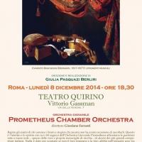 MUSICA LIRICA:  SUONIAMO ITALIANO, I PRELUDI DEI GRANDI MAESTRI