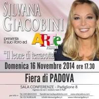 Silvana Giacobini insieme al manager Salvo Nugnes ospite speciale alla Fiera Arte Padova con il libro