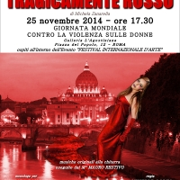 Tragicamente rosso ospite al Festival Internazionale D'Arte