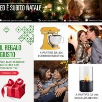 Natale 2014 con oltre 230 milioni di regali in Italia :  1 Italiano su 3 ha intenzione di acquistarli da Mobile
