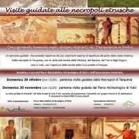Nuovo tour tra le tombe etrusche di Tarquinia e Vulci
