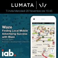 Waze e Lumata insieme allo IAB Forum 2014 per parlare di geo-marketing.
