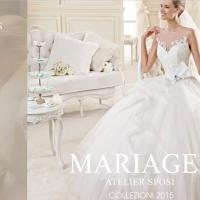 L'atelier Mariages presenta la nuova collezione di abiti da sposa 2015
