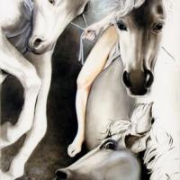 Maria Franca Grisolia e il suo gusto raffinato e surrealista in esposizione alla prestigiosa Milano Art Gallery