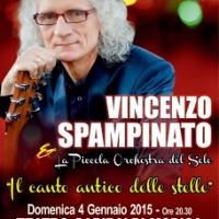 Vincenzo Spampinato e la Piccola Orchestra del Sole in concerto al Teatro Garibaldi