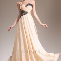 Vsun 2015 nueva vestidos de noche primavera amor brille