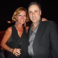 """Antonello De Pierro e Laura Lattuada al party dei """"coglioni"""" di Paolo Pazzaglia"""