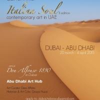 Italian Soul Contemporary Art In UAE: lo spirito italiano negli Emirati Arabi