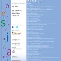 Ritratti di Poesia - nona edizione - Roma, 05 febbraio 2015