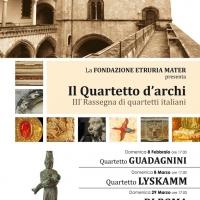 """3ª edizione della rassegna """"Il Quartetto d'archi"""""""