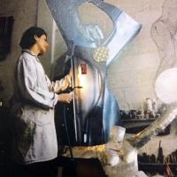 Lo straordinario utilizzo dei metalli nelle creazioni dell'artista Sivlia Tuccimei