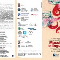 "CONVEGNO INTERNAZIONALE DI STUDI ""MASCHERA E LINGUAGGI"""