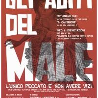 Gli abiti del male: performance teatrale interattiva sui 7 vizi capitali