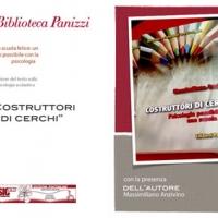 Interessante presentazione a Reggio Emilia del libro Costruttori di cerchi di Massimiliano Anzivino