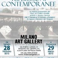"""Milano Art Gallery: Grande attesa a Bassano del Grappa per l'inaugurazione della mostra """"Riflessioni Contemporanee"""""""