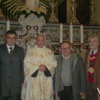 BRUSCIANO - CAVA DE' TIRRENI SCAMBIO RELIGIOSO E CULTURALE E FESTA DEI GIGLI.   di Antonio Castaldo