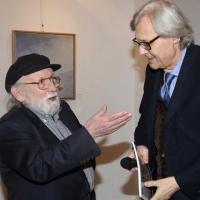 """Vernissage di successo per la mostra """"L'essenza del colore"""" a cura del Prof. Vittorio Sgarbi presso la storica Milano Art Gallery"""