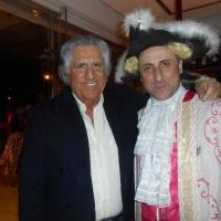 """Antonello De Pierro e Lando Buzzanca al party """"grasso"""" di Maria Monsè"""
