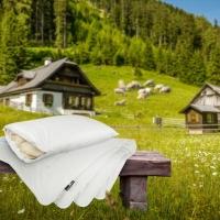 Con la nuova linea di pura lana dell'Alto Adige di DaunenStep il sonno diventa sempre più piacevole