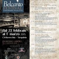 """Presentata la III edizione del Belcanto Festival """"Vincenzo Pucitta"""""""