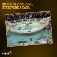 I teppisti di Roma protagonisti in pubblicità
