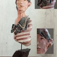 Museo Gipsoteca Canova: le creazioni artistiche di Imelda Bassanello in mostra collettiva inaugurata da Vittorio Sgarbi