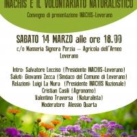 Il prossimo 14 marzo inaugurazione di Inachis–Leverano