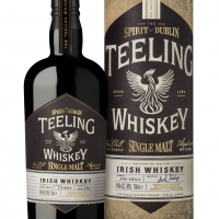 L'IRLANDESE  TEELING  LANCIA  IL  SUO  SINGLE  MALT  WHISKEY.