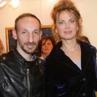 """Milano Art Gallery: Luca Maris, talentuoso cantante campano, ospite al vernissage della mostra """"impressioni d'artista"""""""