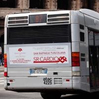 Pubblicità sugli autobus Roma