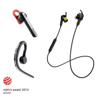 Tripletta di riconoscimenti per Jabra ai Red Dot Design Awards 2015