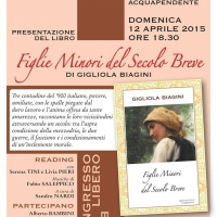 Presentazione del libro Figlie minori del secolo breve di Gigliola Biagini, 12 aprile 2015, Acquapendente