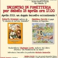 Incontro in fumetteria con Massimo Fecchi e Roberto Ormanni