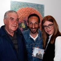 Milano Art Gallery: il noto cantautore Luca Maris esprime entusiastico apprezzamento per la mostra di Toni Zarpellon nella sua serata inaugurale