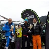 ROLFI con il Trofeo Freedom of Moving premia gli atleti vincitori dei Campionati Italiani Disabili FISIP Sci Alpino 2015