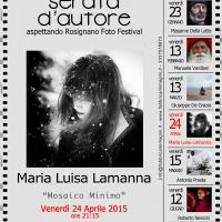 Serata d'autore, aspettando il Rosignano Foto Festival