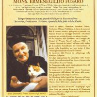 """Alla prestigiosa mostra """"Pro Biennale"""" presso la Milano Art Gallery veneziana aderisce l'associazione """"Monsignor Ermenegildo Fusaro"""""""