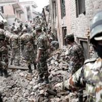 Terribile terremoto in Nepal