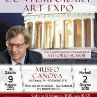 Museo Gipsoteca Canova: Riccardo Zancano partecipa all'attesissima mostra collettiva inaugurata da Vittorio Sgarbi