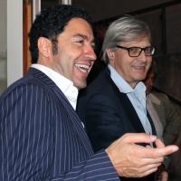 """Possagno: inaugurata da Vittorio Sgarbi la mostra organizzata da """"Spoleto Arte"""" presso il Museo Gipsoteca Canova"""