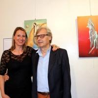 """Grande successo per le opere di Agnese Cabano in occasione della mostra """"Contemporary Art Expo"""" presso il Museo Gipsoteca Canova di Possagno"""