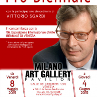 Presso la Milano Art Gallery di Venezia l'arte di  Alessandra Turolli in una mostra presentata da Vittorio Sgarbi