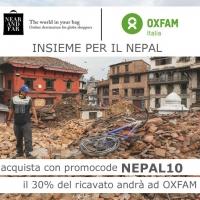 Near and Far insieme a Oxfam per il Nepal