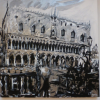 """Alla Milano Art Gallery di Venezia le opere di Alfonso Mangone in mostra per """"Pro Biennale"""""""