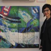 """Alla Milano Art Gallery di Venezia Annalisa Picchioni e altri noti artisti per la mostra """"Pro Biennale"""" presentata da Vittorio Sgarbi"""