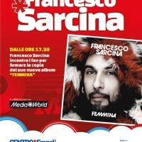 Francesco Sarcina al Centro*Empoli. L'ex cantante de Le Vibrazioni presenta il suo nuovo album