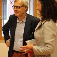 """Alla Milano Art Gallery grande successo per la mostra """"Pro Biennale"""" fra i noti artisti ad esporre  Elettra Spalla Pizzorno"""