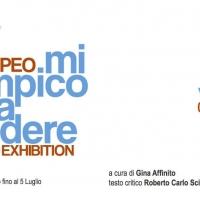 Ciro Pompeo mi arrampico senza vedere. Solo Exhibition